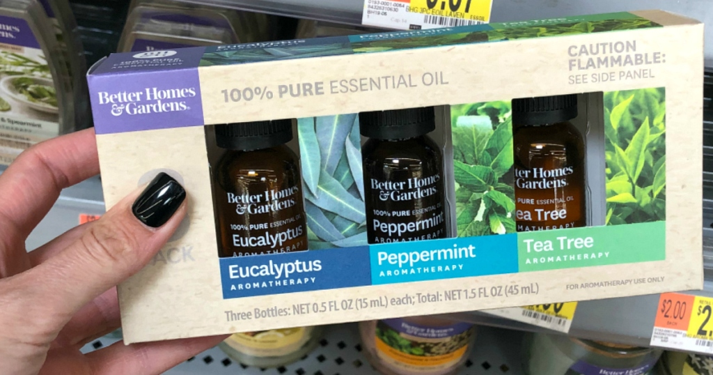 better homes & gardens essential oils