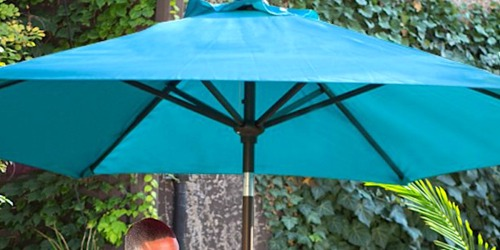 This Highly Rated 9-Foot Outdoor Patio Umbrella on Amazon is Just $41.39 Shipped