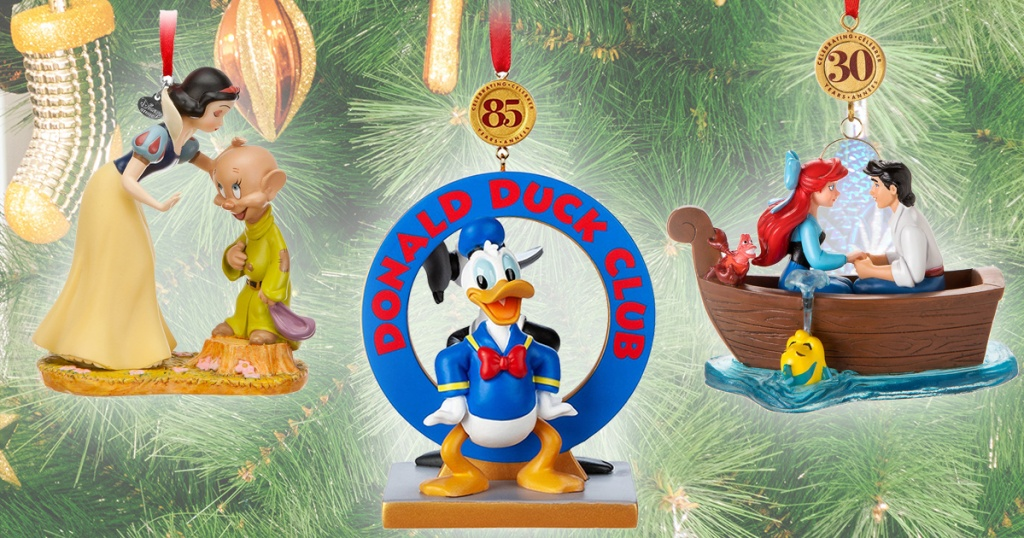 wholesale dealer 3208e ad411 Disney Just Released Their 2019 Christmas Ornament Collection