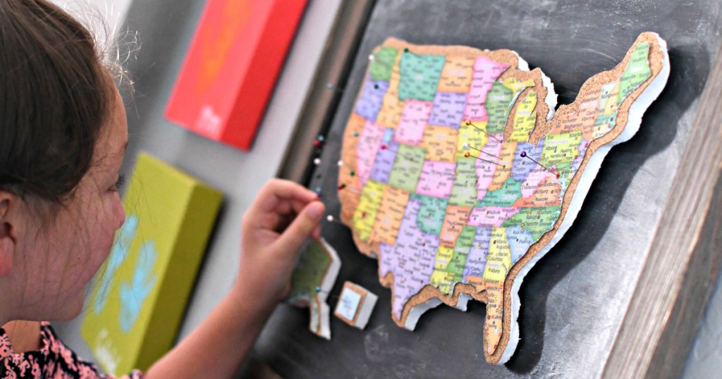 adding a pin to diy travel map