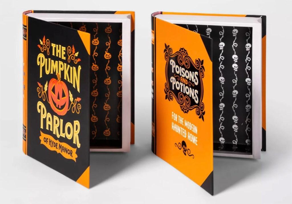 halloween decorative books