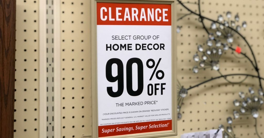 Hobby Lobby Semi-Annual Sales Are Now 90% Off | Hip2BeHome