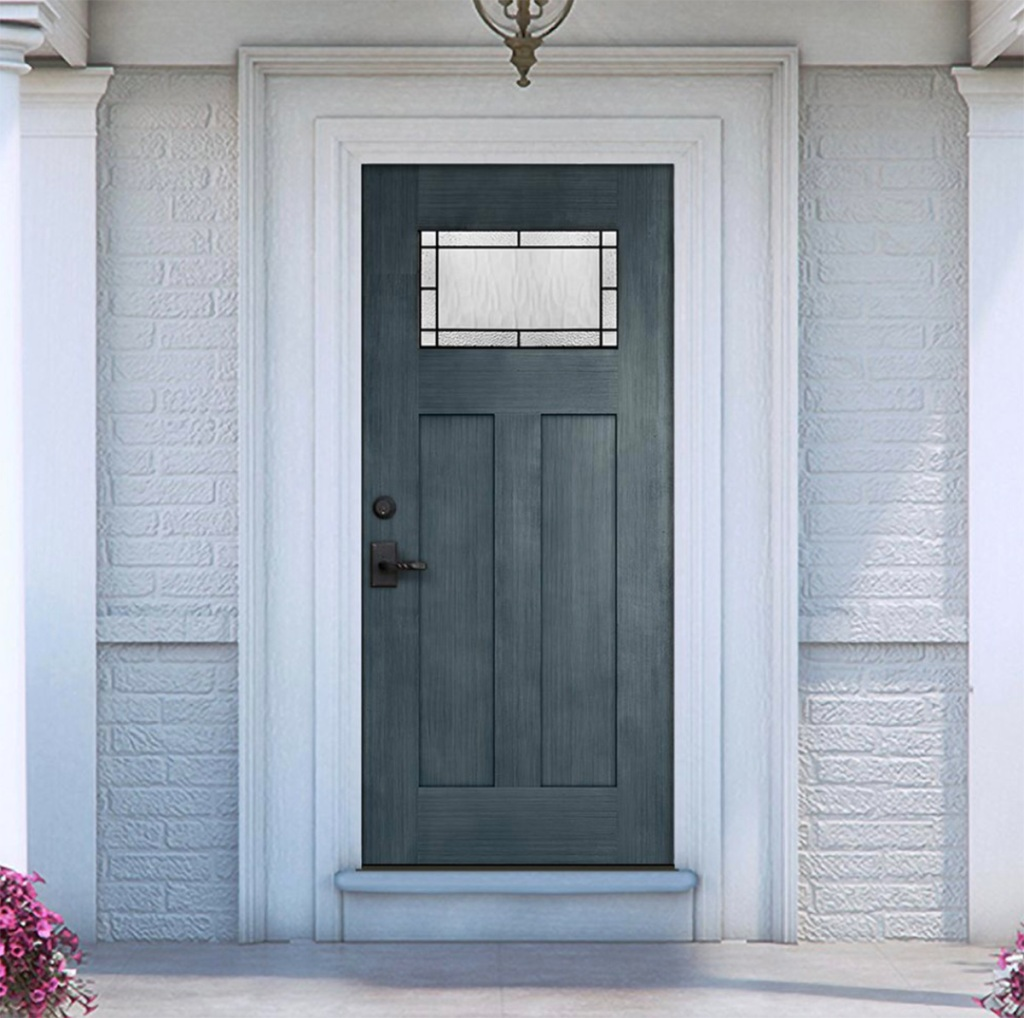 stylish modern front door