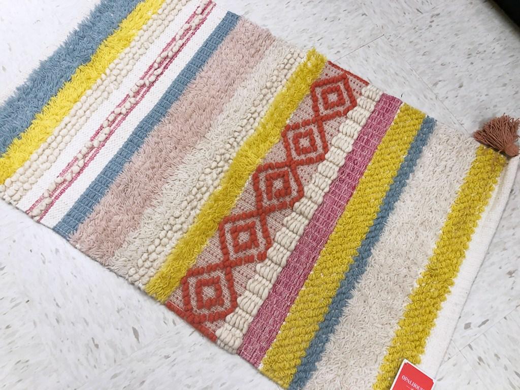 opalhouse bright woven stripe rug