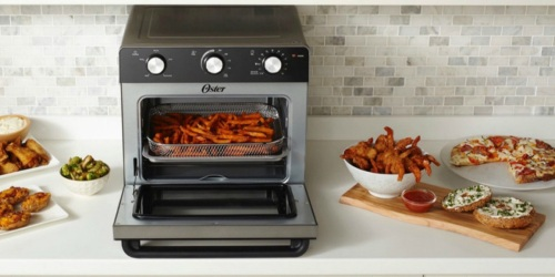 This Oster Air Fryer Toaster Oven Does it All… AND it's on Sale for $120 Off!