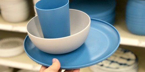 Target Sells Highly Rated Plastic Dinnerware Priced at Only 79¢ Each