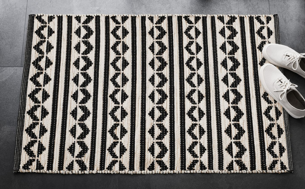 black and white accent rug by project 62 at target