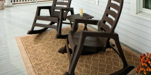 These Stackable AND Durable Rocking Chairs are on Sale for 50% Off