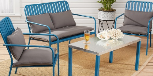 Want to Refresh Your Patio Seating? Score Up to 50% Off Trendy Outdoor Furniture!