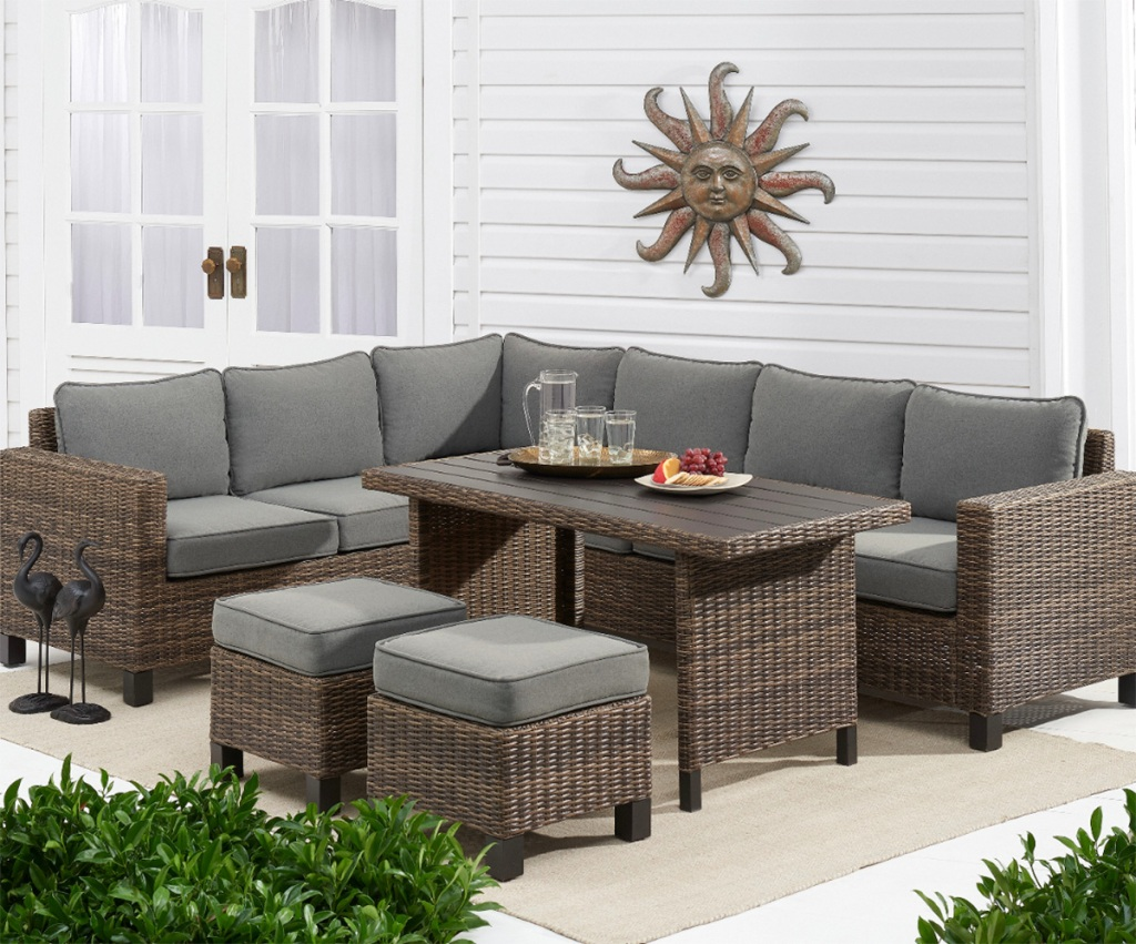 walmart patio sectional
