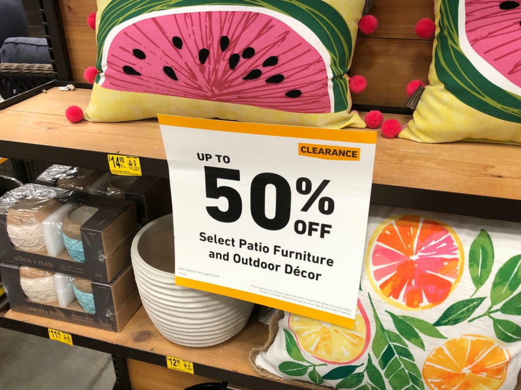 Watch For These Outdoor Patio Clearance Deals At Lowe S Hip2behome