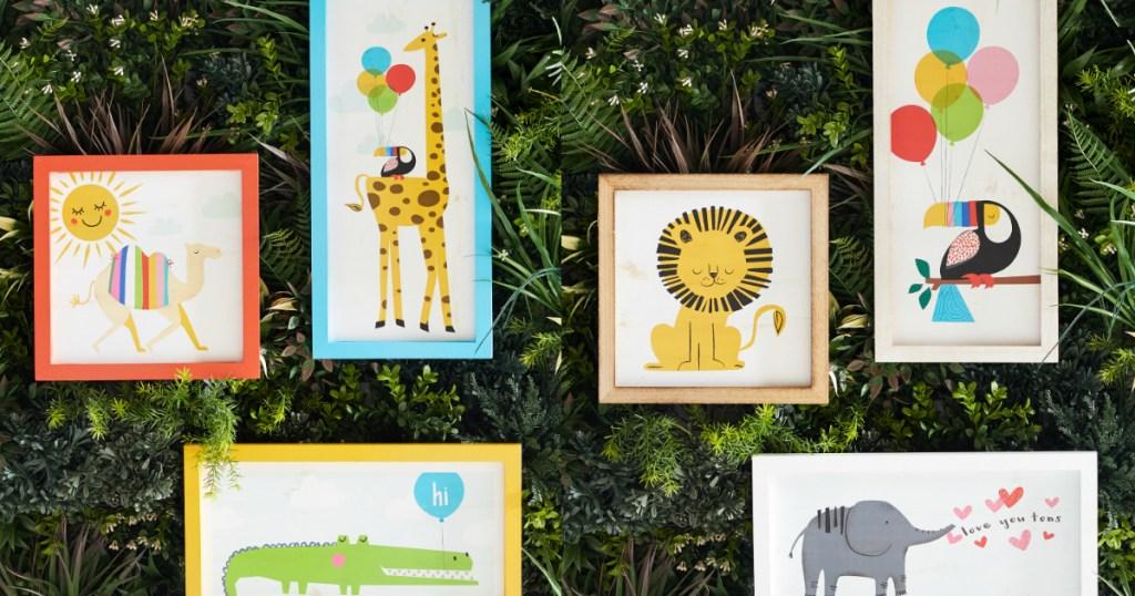 Flower Kids Wall Art