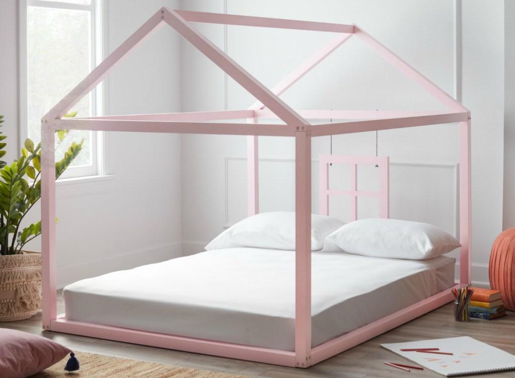 Flower Kids pink bed