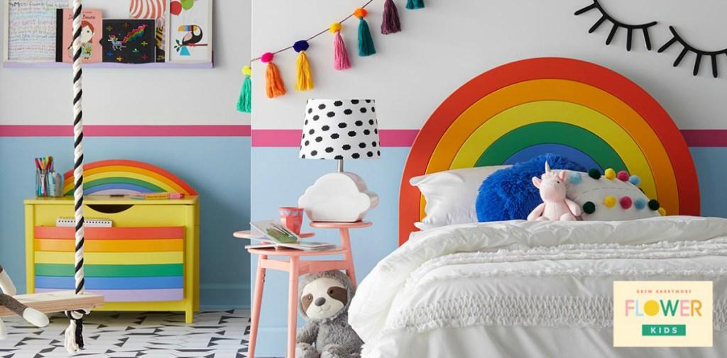 Flower Kids rainbow room