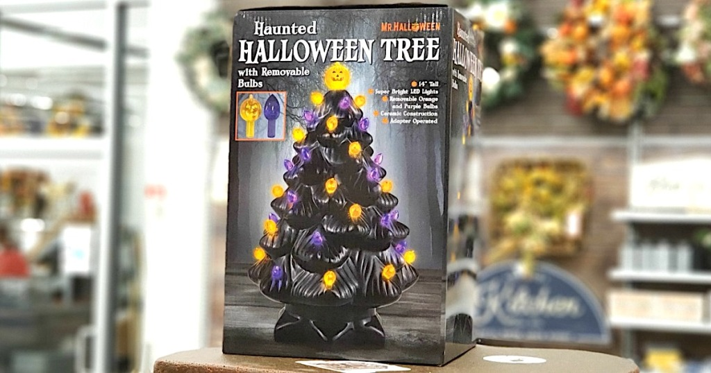 Haunted Halloween Tree in Box