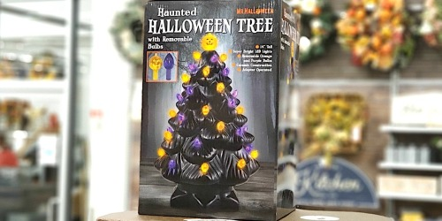 You're Going to Want This Haunted Halloween Tree (But Ya Better Run)