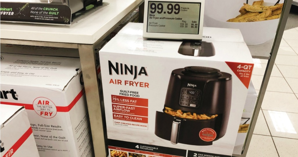 Ninja Air Fryer in box at Kohl's