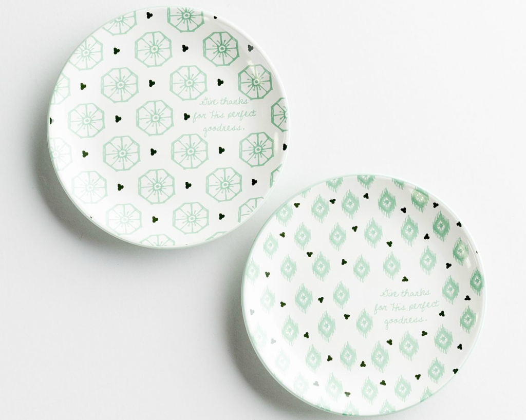 set of 2 salad plates