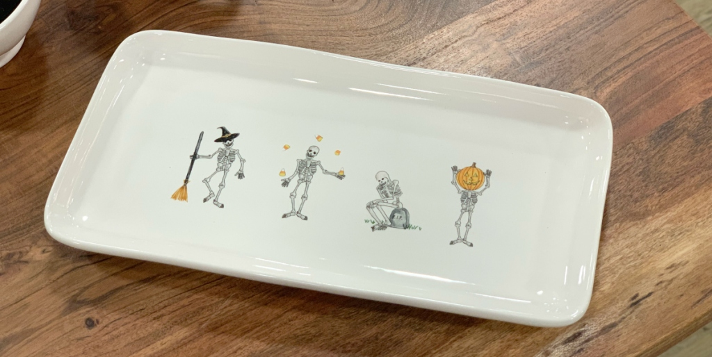 Rae Dunn Halloween Serving Platter