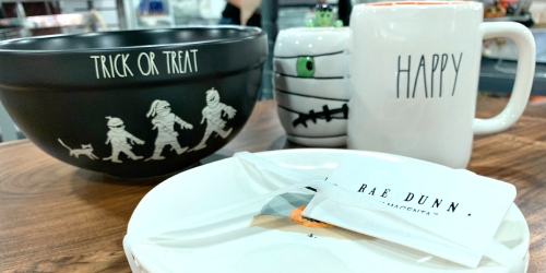 We Spotted Rae Dunn Halloween Home Items at T.J. Maxx – And They're UnBOOlievably Cute