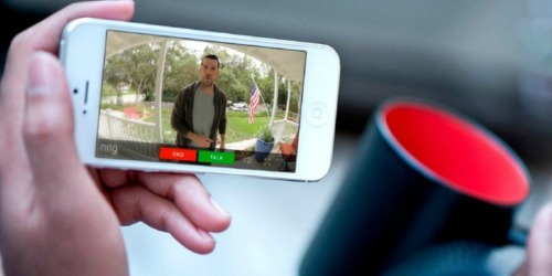 Want to Know Who's at Your Door? Take Advantage of This Ring Doorbell Deal!