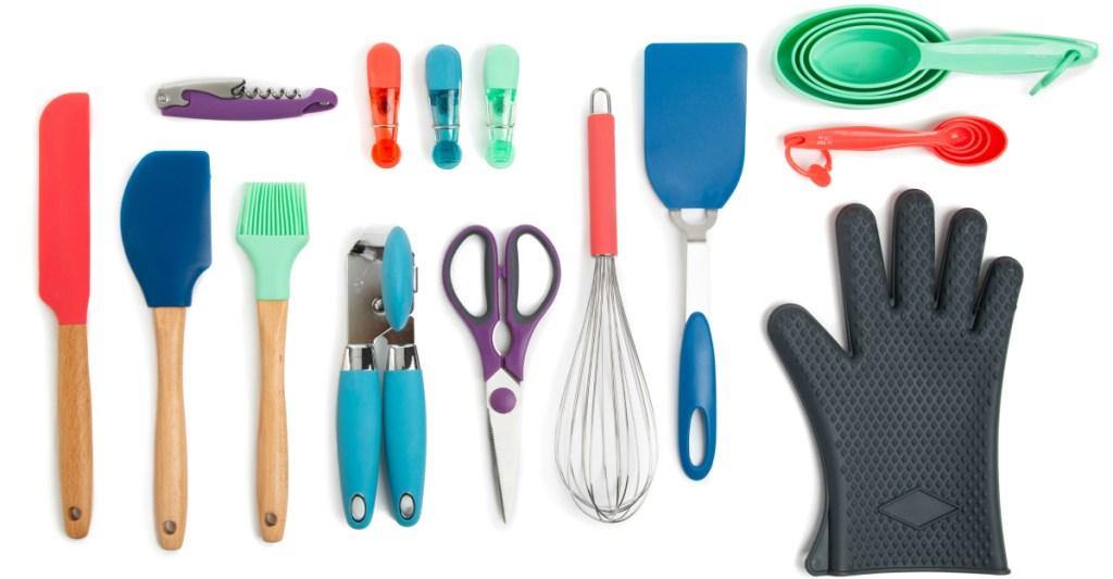 Thyme & Table utensil set stock photo