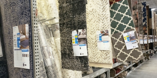 These Clearance Area Rugs are 50% Off at Lowe's – But They're Selling Out Fast