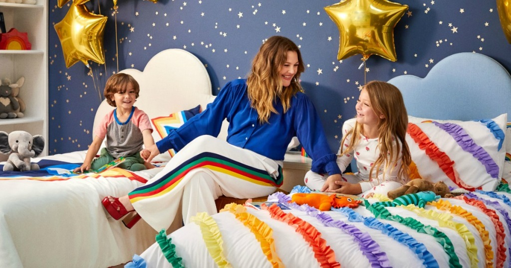 Drew Barrymore kids home collection