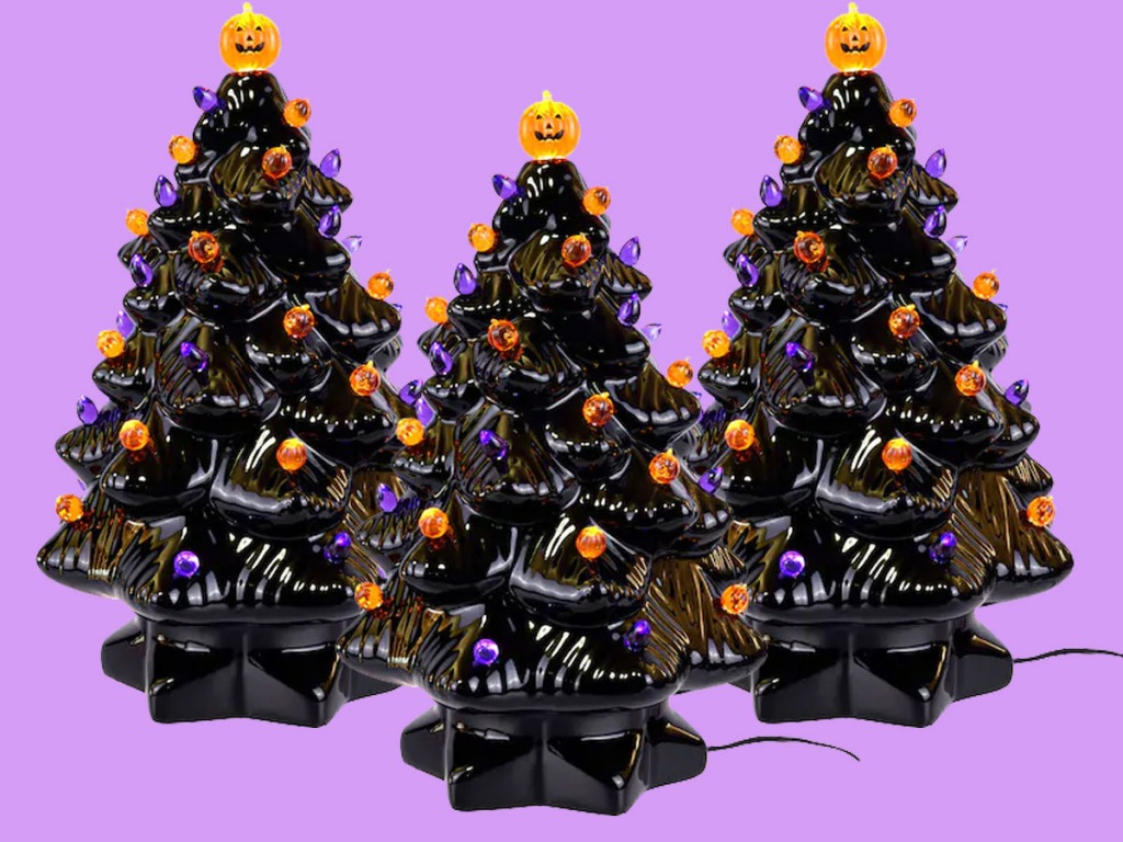 haunted halloween tree
