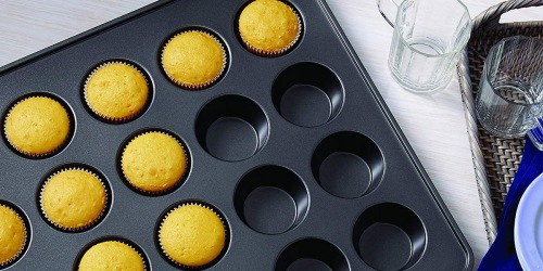 Wilton Non-Stick Mega Muffin Pan Only $9.98 (Bakes 24 Muffins at Once)